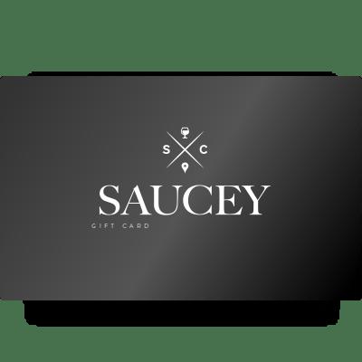 Saucey Gift Card